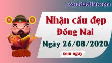 Dự đoán XSDN 26/8/2020 – Dự đoán kết quả xổ số Đồng Nai hôm nay ngày 26/8/2020