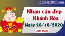 Dự đoán XSKH 28/10/2020 – Dự đoán xổ số Khánh Hòa 28/10/2020 hôm nay