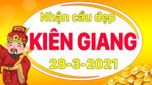 Dự đoán XSKG 28/3/2021 – Dự đoán xổ số Kiên Giang 28/3/2021 hôm nay